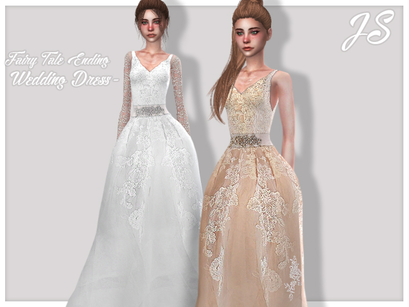 Javasims Fairy Tale Ending Wedding Dress