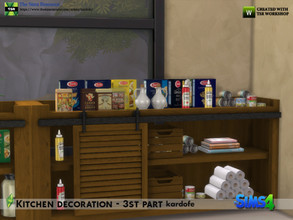 Sims 4 — kardofe_Kitchen decoration  3rd part by kardofe — Third and last part of the kitchen decoration series. Eleven