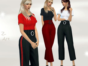 Sims 4 — TrendZ. 20-03 by Zuckerschnute20 — Elegant and casual at the same time, a complete outfit for many occasions :D