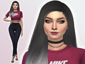 Sims 4 — Sienna Dowell by Mini_Simmer — Sienna Dowell is a young adult. Her traits are Music Lover, Romantic and Art