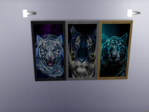 Sims 4 — Tiger Pictures by sweetheartwva — I didn't find much of Animal pictures that i liked. So here is 3 different