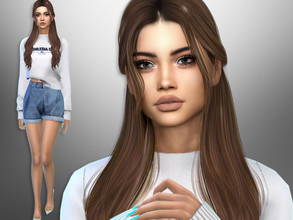 Sims 4 — Reneta Varner by divaka45 — Look at the creator`s notes for the custom content which I have used. DOWNLOAD