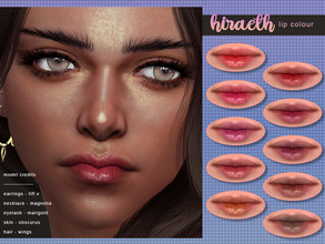Sims 4 — [ Hiraeth ] Lip Colour by Screaming_Mustard — A simple slightly glossed lip colour. With custom thumb nail.