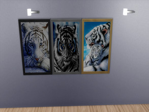 Sims 4 — Snow tiger Pictures by sweetheartwva — Here are some more tiger Pictures.. 3 snow tigers