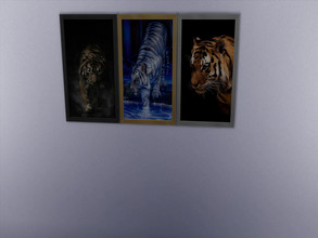 Sims 4 — Tigers pictures by sweetheartwva — 3 more pictures of tigers