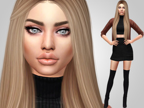 Sims 4 — Kaleigh Field by MSQSIMS — Name : Kaleigh Field Age : Young Adult Aspiration: Friend Of The Animals Traits: Dog