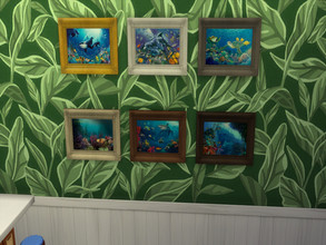 Sims 4 — Under The Sea Life by sweetheartwva — The game didn't have much for pictures for a beach House, So i made some..