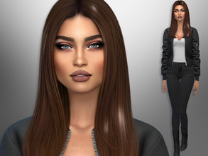Sims 4 — Jessie Guzman by divaka45 — Look at the creator`s notes for the custom content which I have used. DOWNLOAD