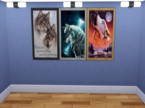 Sims 4 — Wolves Pictures by sweetheartwva — Pictures of Wolves. 3 different pictures.