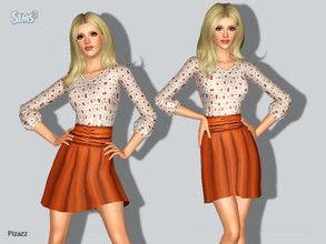 Sims 3 — Cocktail Dress 101 by pizazz — A soft classic cocktail dress that is suitable for Career, Everyday and Formal.