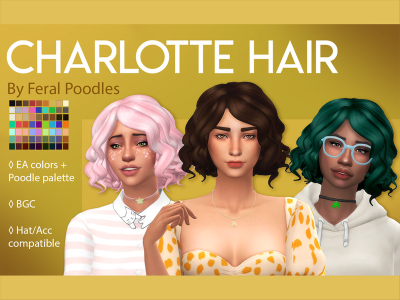Feralpoodles Charlotte Hair