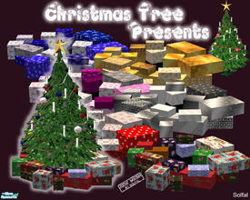 Sims 2 — ChristmasTreePresents by solfal — Presents to put under my christmas tree