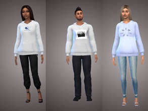 Sims 4 — Mac Miller Hoodies V1 by timmyagb — Hoodies inspired by the late Mac Miller, Three different swatches available