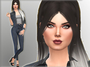Sims 4 — Lillian Xena by Mini_Simmer — Lillian is a young adult sim. She is outgoing, noncommittal and self assured. Her