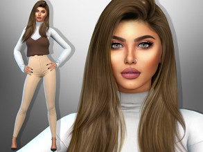 Sims 4 — Benita Rodriguez by divaka45 — Look at the creator`s notes for the custom content which I have used. DOWNLOAD