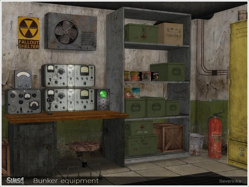 бункер симс4