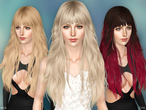 Sims 3 — #208 - Female Hairstyle - Sims 3 by Cazy — Female hairstyle for Teen to Elder.