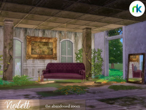 Sims 4 — Nikadema Violett by nikadema — Violett, the abandoned room. When it all ended, violett was a refugee for some