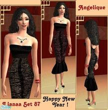 Sims 2 — Set 87 Angelique by Lianaa — Set 87 Angelique - formal dresses for sims special ocassions