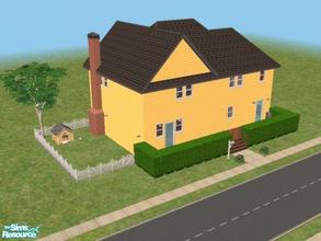 Sims 2 — House 15 by Vanilla_Love — This one is fully furnished with all maxis content, and is a replica of my grand