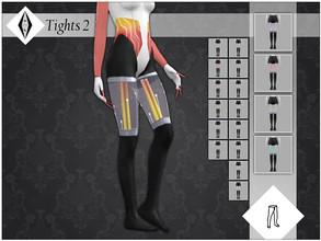 Sims 4 — Tights 2 by AleNikSimmer — These tights are meant to be used only with Tops and not Full Body outfits. When put