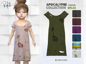 Sims 4 — Apocalypse Toddler Collection RPL43 by RobertaPLobo — :: Dress (Female and Male) :: 8 swatches :: New Mesh ::