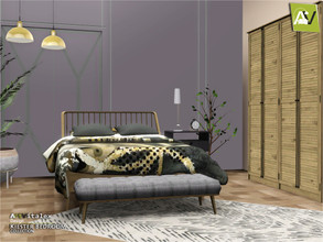 Sims 3 — Kiester Bedroom by ArtVitalex — - Kiester Bedroom - ArtVitalex@TSR, May 2020 - All objects are recolorable -
