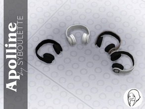 Sims 4 — Apolline - Headphone by Syboubou — Sometimes headphone is needed to get the best audio experience from your
