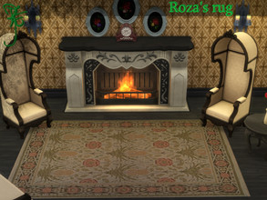 Sims 4 — Roza's rugs_RavensF by Ravens_Fury2 — Hi every-one, I have made thos timeless but old rugs that can fit in