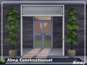 Sims 4 — Alma Constructionset Part 8 by Mutske — This is eight part of the Alma Construction. With arches and doors. Make