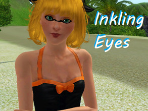 Sims 3 — Inkling Eyeliner by Little_Ball_Of_Despair — Eyeliner so you can make Inklings in Sims 3! Available from teen to