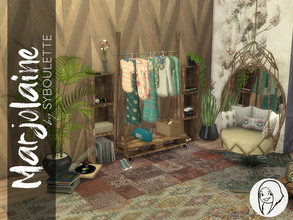 Sims 4 — Marjolaine Closet Set by Syboubou — The Marjolaine's Closet is the next part of the Marjolaine's Bedroom. It