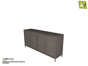 Sims 3 — Kansas Console Table by ArtVitalex — - Kansas Console Table - ArtVitalex@TSR, Jun 2020