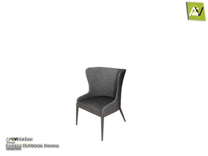 Sims 3 — Kansas Dining Chair by ArtVitalex — - Kansas Dining Chair - ArtVitalex@TSR, Jun 2020