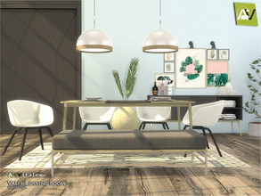 Sims 4 — Valerie Dining Room by ArtVitalex — - Valerie Dining Room - ArtVitalex@TSR, Jun 2020 - All objects three has a