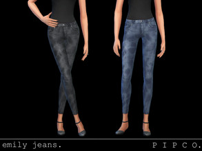 Sims 4 — pipco - emily jeans. by Pipco — simple, stylish maxis match jeans.
