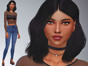 Sims 4 — Octavia Foley by Mini_Simmer — Age: Young Adult Traits: Ambitious, Self assured, Perfectionist. Aspiration: