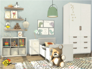 Sims 4 — Jojo Toddler Bedroom by Onyxium — Onyxium@TSR Design Workshop Toddler Bedroom Collection | Belong To The 2020