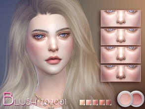 Sims 4 — S-Club LL ts4 Blush 202001 by S-Club —  blush for female Contains the makeup of the body ,enjoy !