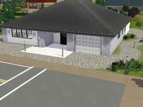 Sims 3 — House by the Sunny Road by adrianna96 — kitchen + dining room, living room, 2 bathrooms, 2 bedrooms, kids room,