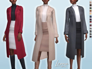 Sims 4 — Leona Outfit by Sifix2 — - New mesh - 13 swatches - Base game compatible - HQ mod compatible - Teen - Young