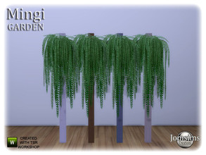 Sims 4 — Mingi garden fake column with plant by jomsims — Mingi garden fake column with plant