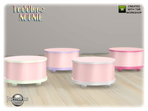 Sims 4 — Noonie toddlers bedroom end table by jomsims — Noonie toddlers bedroom end table
