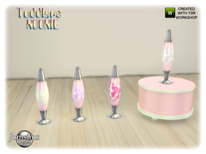 Sims 4 — Noonie toddlers bedroom table lamp by jomsims — Noonie toddlers bedroom table lamp