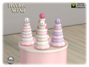 Sims 4 — Noonie toddlers bedroom toy2 just deco by jomsims — Noonie toddlers bedroom toy2 just deco
