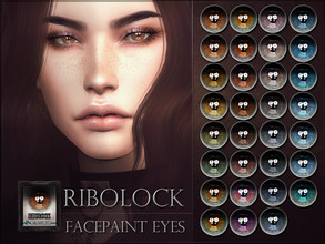 Sims 4 — Ribolock Eyes by RemusSirion — Ribolock Eyes HQ mod compatible: preview pictures were taken with HQ mod