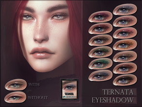 Sims 4 — Ternata Eyeshadow by RemusSirion — Ternata Eyeshadow HQ mod compatible: preview pictures were taken with HQ mod