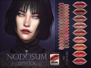 Sims 4 — Nodosum Lipstick by RemusSirion — Nodosum Lipstick HQ mod compatible: preview pictures were taken with HQ mod