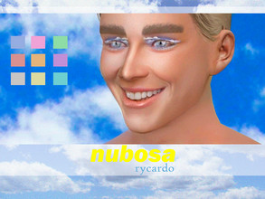 Sims 4 — Nubosa Eyeshadow by rycardo — Hello, I'm new to creatjng cc and this is my first creation ever, so tips are very