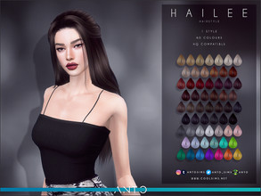 Sims 4 — Anto - Hailee Hairstyle by Anto — Hairstyle for your sims. Hope you like it!